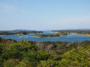 慕情が丘から望む英虞湾