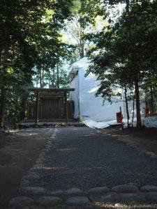 御造替も終盤・そろそろ御遷座か、小俣神社(豊受大神宮 摂社)