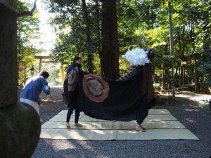 田丸神社獅子舞神事(玉城町下田辺)