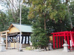 坂社と坂之森稲荷神社(伊勢市八日市場町)