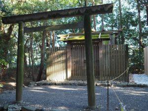 現在の殿舎は今週で見納め?、小俣神社(豊受大神宮 摂社)