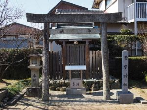 菅原神社、新開臥竜梅公園(伊勢市御薗町新開)