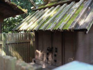 40年間の役目を終えた小俣神社(豊受大神宮 摂社)の旧殿舎