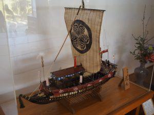 虎丸の模型(山田奉行所記念館)