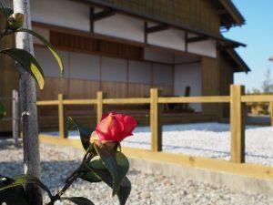 お白州にて(山田奉行所記念館)