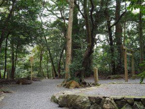 大津神社(皇大神宮 末社)付近
