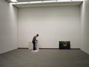 写真好学研究所写真展の搬入・設営