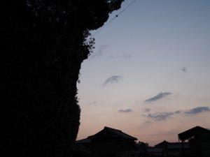 蚊野神社(皇大神宮 摂社)付近