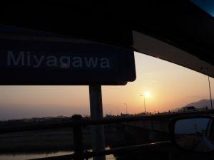 度会橋(宮川)西詰付近