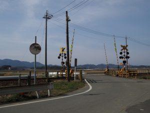 JR参宮線 前川踏切