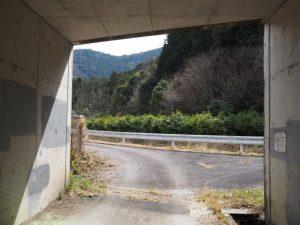伊勢自動車道下のトンネル勢和多気40