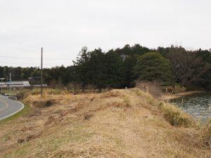 勝田大池付近(鴨下神社〜奈良波良神社)