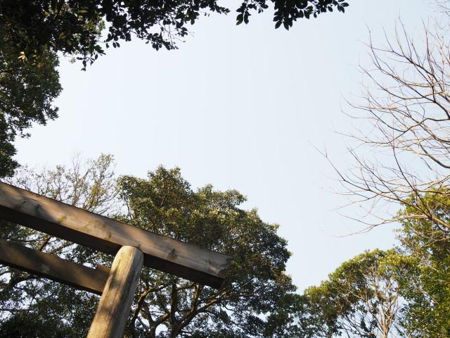 神前神社(皇大神宮 摂社)にて