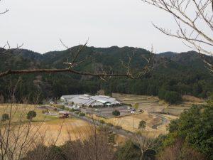 五箇篠山城跡からの眺望(多気郡多気町古江)