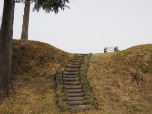 五箇篠山城跡(多気郡多気町古江)