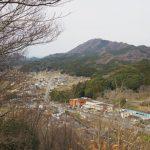 五箇篠山城跡(多気郡多気町古江)からの眺望