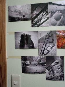 写真の固定方法の検討(自作のはがせる両面テープ)