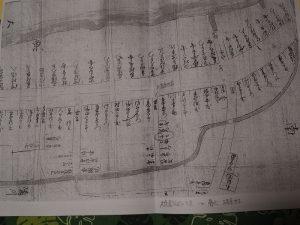 河崎南町絵図面