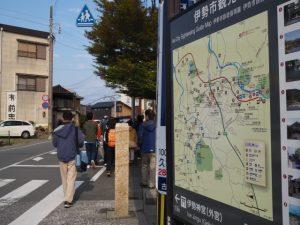 古市郵便局から倭姫宮方向へ(伊勢市古市町)