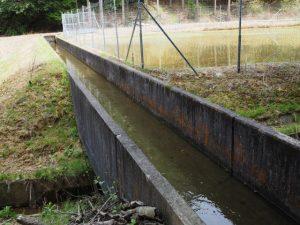 エンゲの切り通し〜岩谷池(立梅用水)