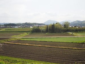 岩谷池(多気町丹生)から眺望