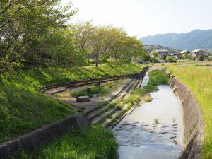 八王子川(多気町丹生)
