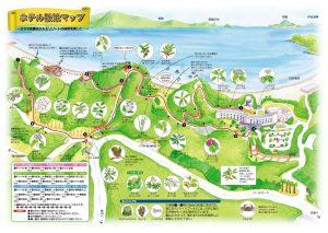 ホテル散策マップ(タラサ志摩ホテル&リゾート)