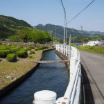 立梅用水(元丈の館付近〜四代目井堰)