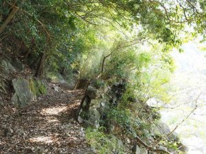 昔の水路跡(立梅用水)