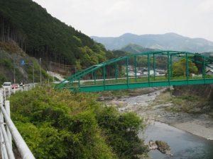 国道166号、千歳橋(櫛田川)