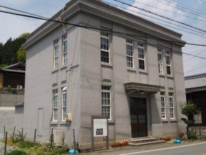 旧飯南郵便局局舎(松阪市飯南町横野)