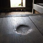 修復前の一般公開、金森得水 別邸(茶室)「玄甲舎」