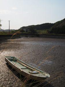 橘橋の遠望(五十鈴川派川)
