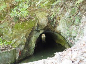 柳谷トンネル2出口?(立梅用水)