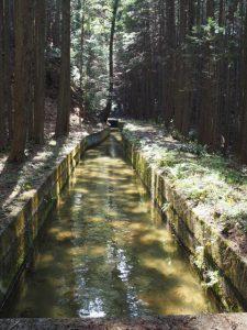 立梅用水、柳谷トンネル1出口の遠望