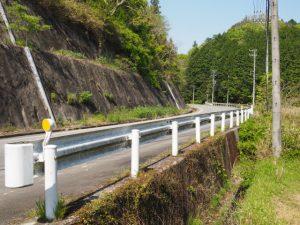 柳谷トンネル2出口(立梅用水)へ