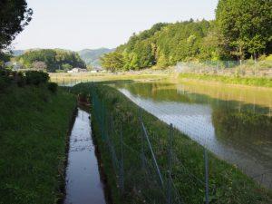 立梅用水(柳谷トンネル2出口〜塔ノ本トンネル入口)付近