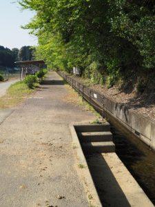 立梅用水(柳谷トンネル2出口〜塔ノ本トンネル入口)、ボート乗り場
