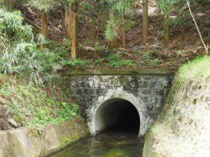 古江隧道出口(立梅用水)