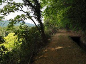 柳谷トンネル1入口(立梅用水)へ