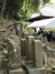 元興玉社の遷座祭、太江寺(伊勢市二見町江)
