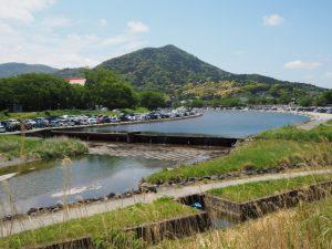御側橋(五十鈴川)付近からの眺め