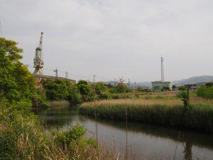 宮川浄化センター付近(伊勢市大湊町)