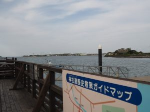 神社 海の駅付近(伊勢市神社港)