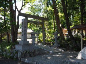 久しぶりに訪れた朝柄八柱神社(多気町朝柄)