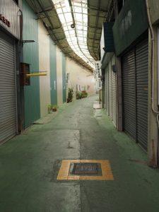 宇治山田市の消火栓(明倫商店街)