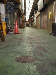 宇治山田市の水道○○○(明倫商店街)