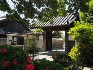 安楽寺、安楽芭蕉天神(松阪市安楽町)