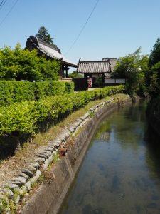 安楽寺、安楽芭蕉天神付近(松阪市安楽町)