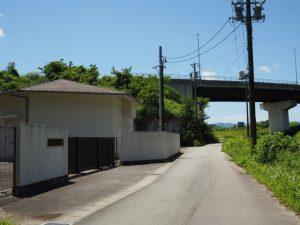飯野高宮神山神社〜JR紀勢本線 徳和・多気間 中溝橋りょう